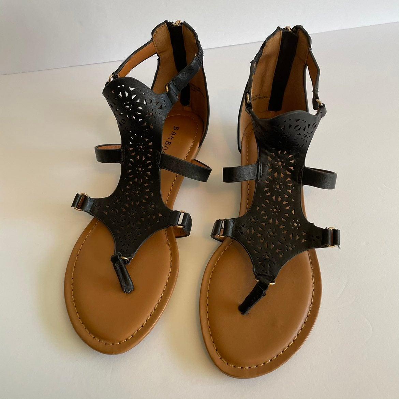 "Bamboo ""Candace"" Women's Sandals Sz 8/38"