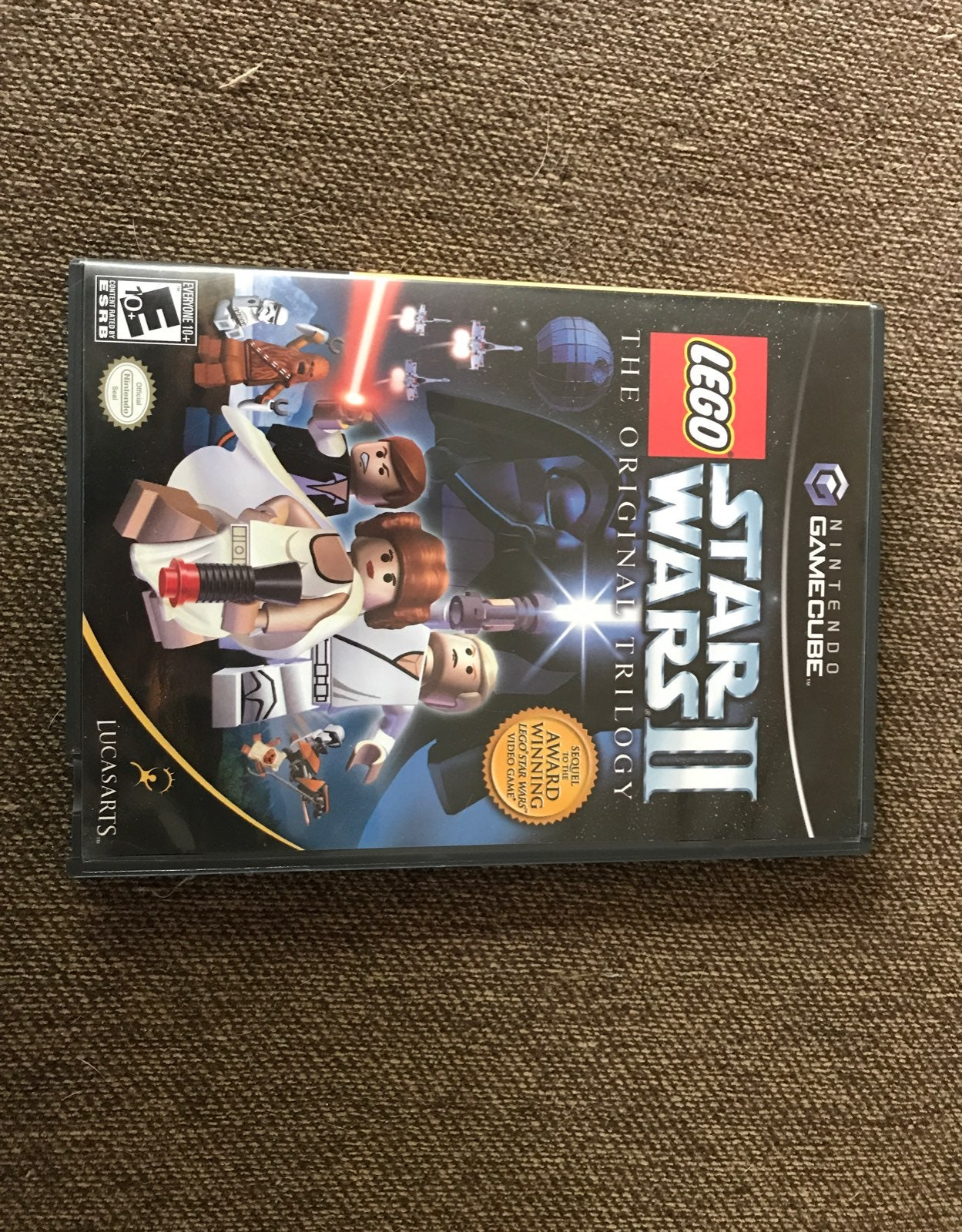 Gamecube lego star wars 2 disc