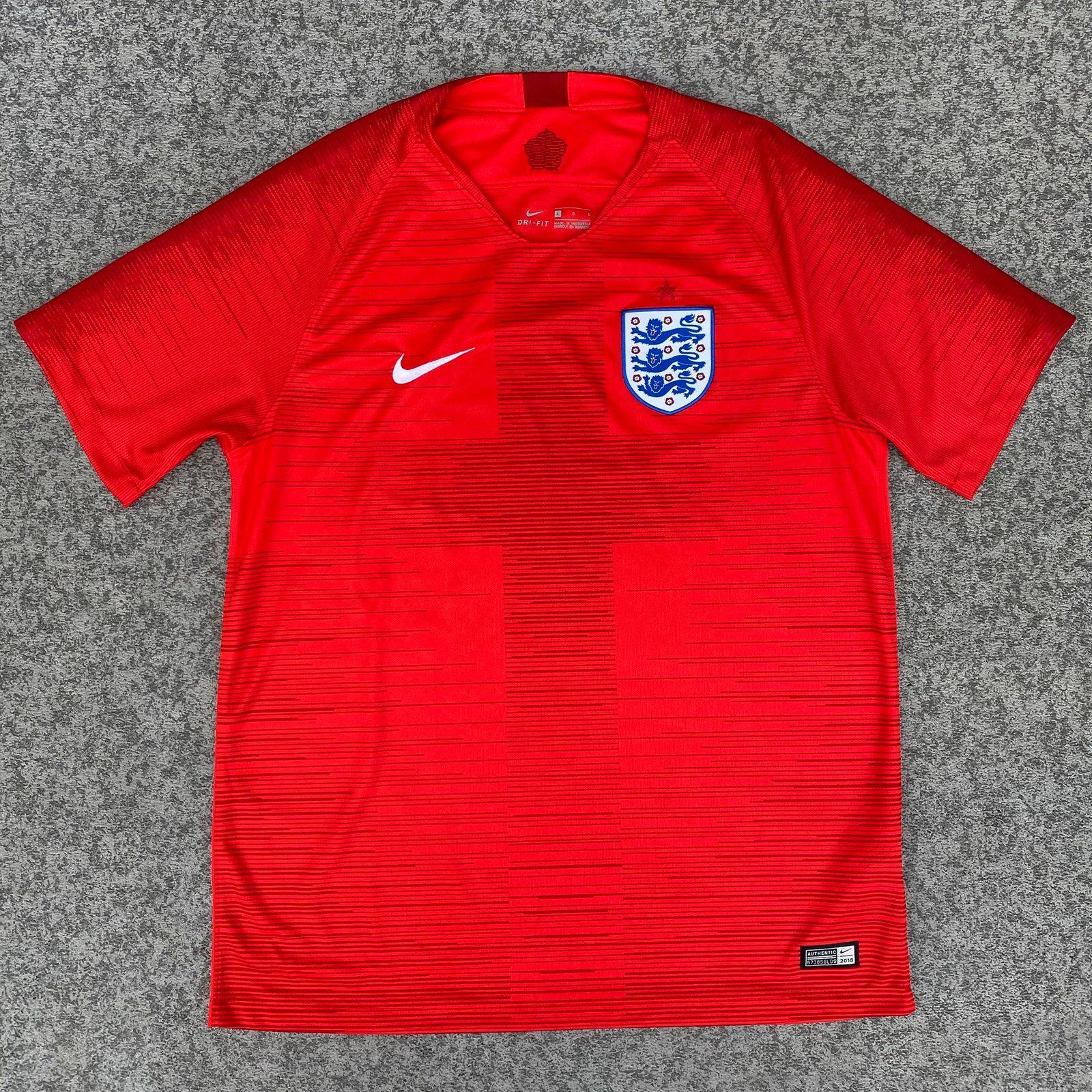 Nike 2018 Authentic England Jersey
