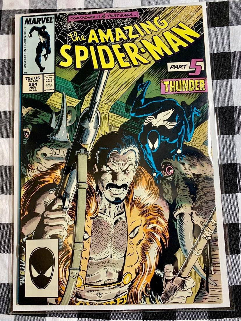 Amazing Spider-Man # 294 Death of Kraven