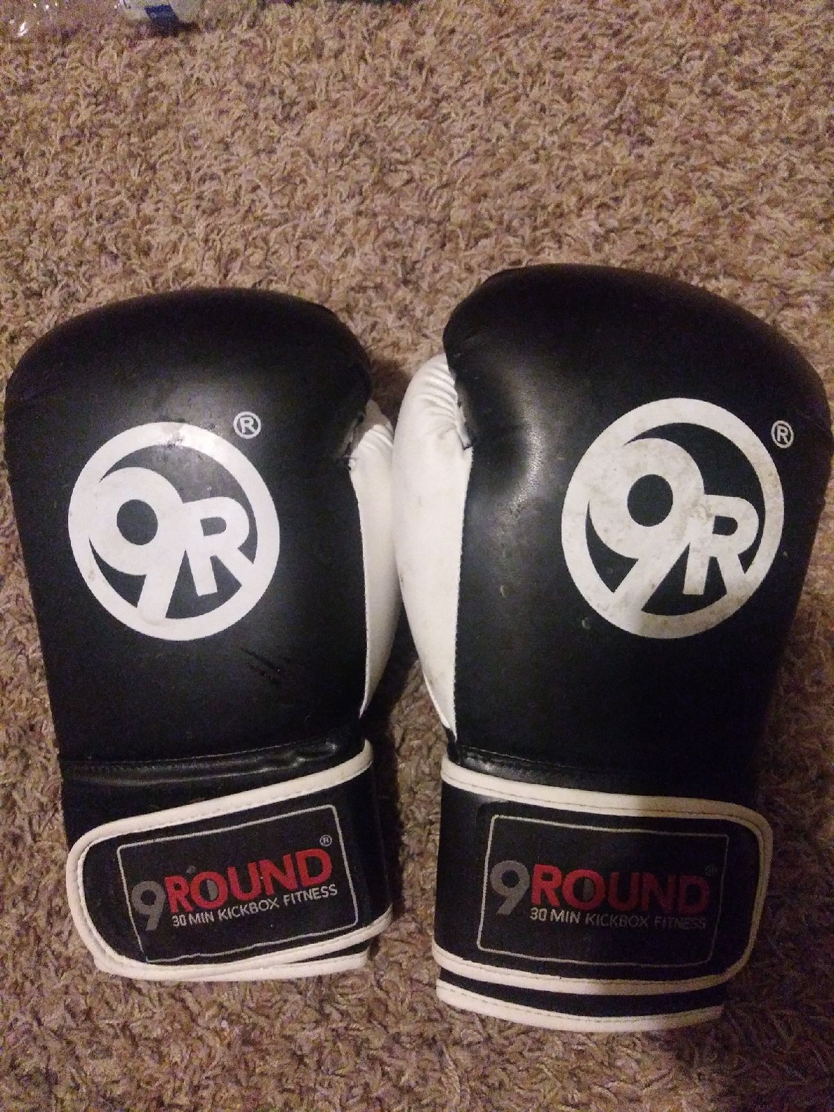 Kickboxing practice gloves