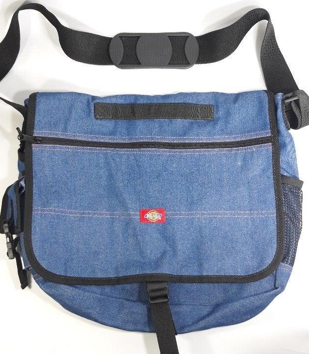 Dickies Denim Messenger Bag Tote Satchel
