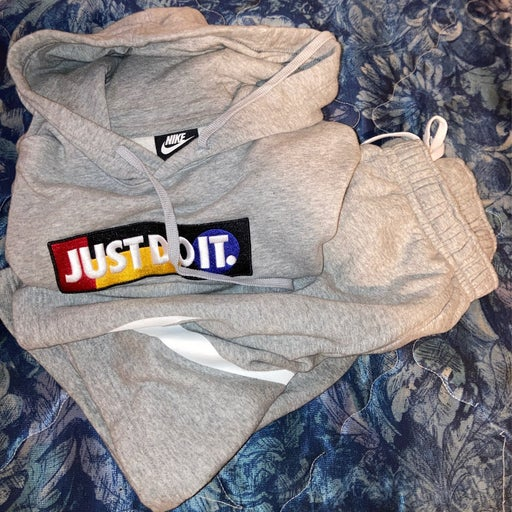 Nike Hoodie And Shorts Combo
