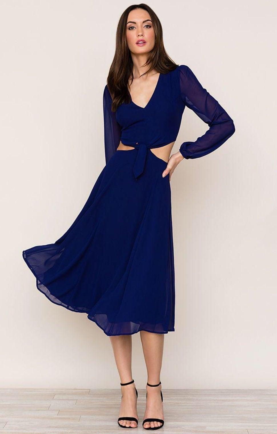 RESERVED Yumi Kim Open Heart Dress XS