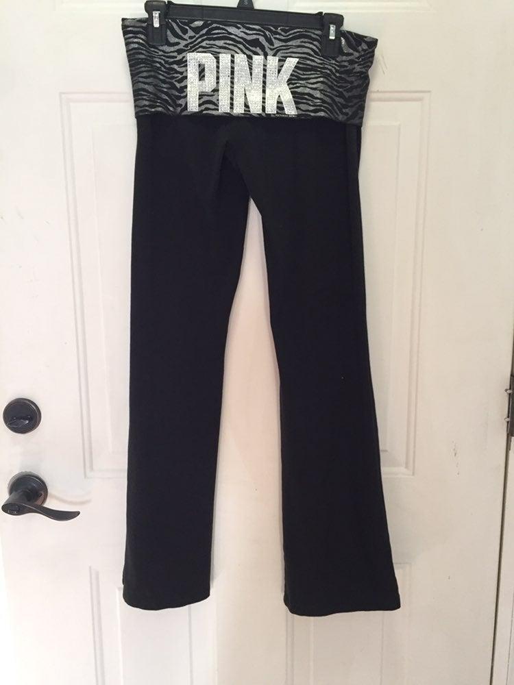 PINK yoga pants Victoria Secret Medium