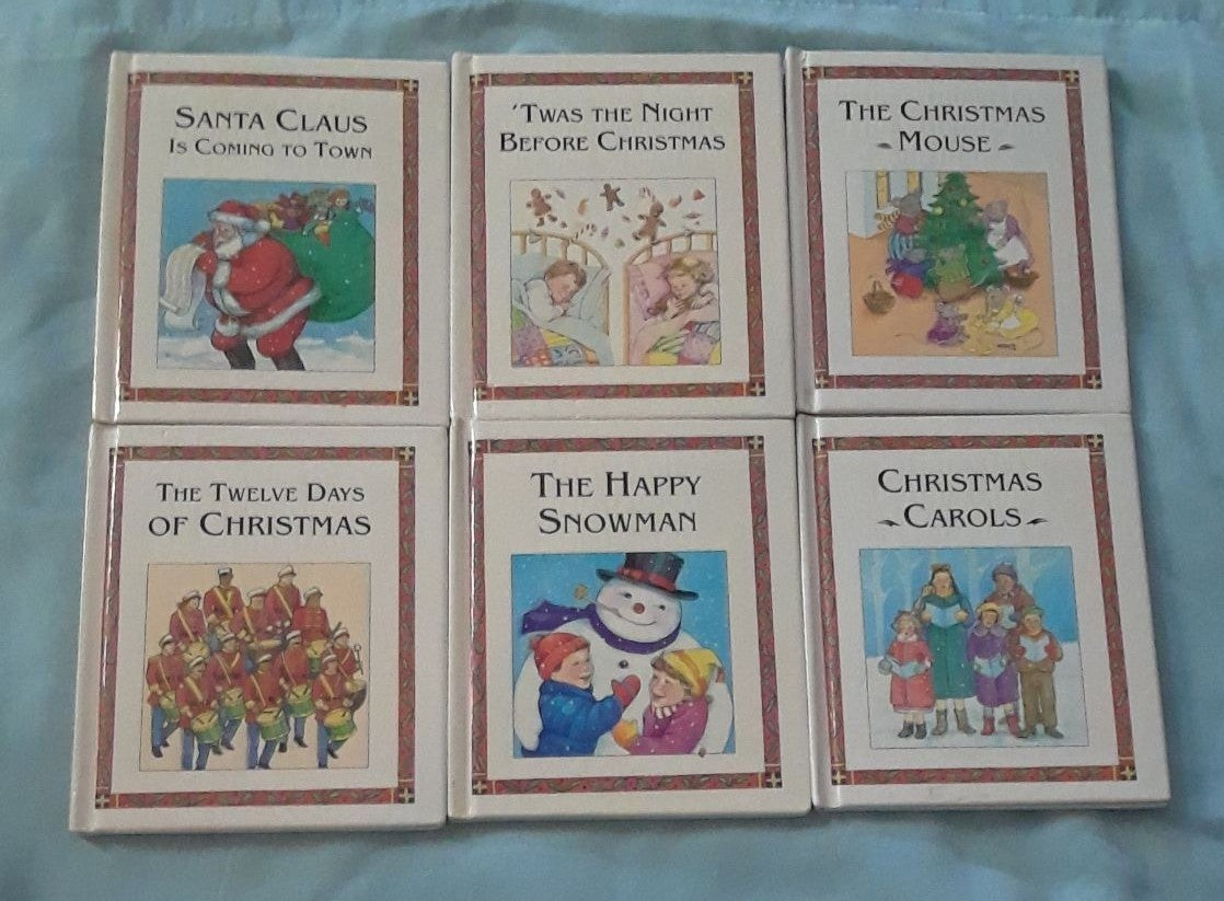 Children's Christmas Books Lot PS