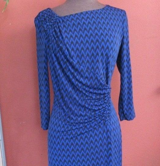 Calvin Klein Royal Blue & Black dress