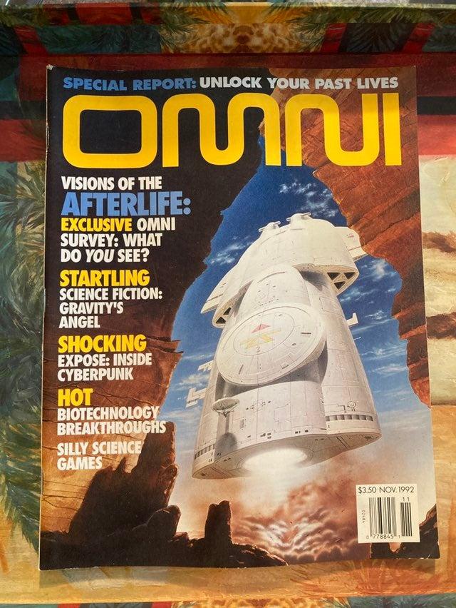 Vintage OMNI Magazine Nov 1992 - Science