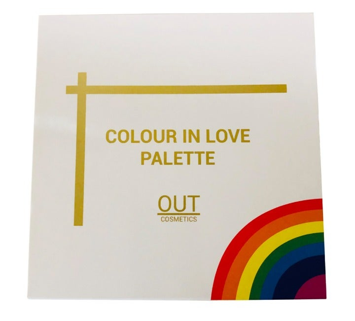 OUT Cosmetics Colour in Love Palette