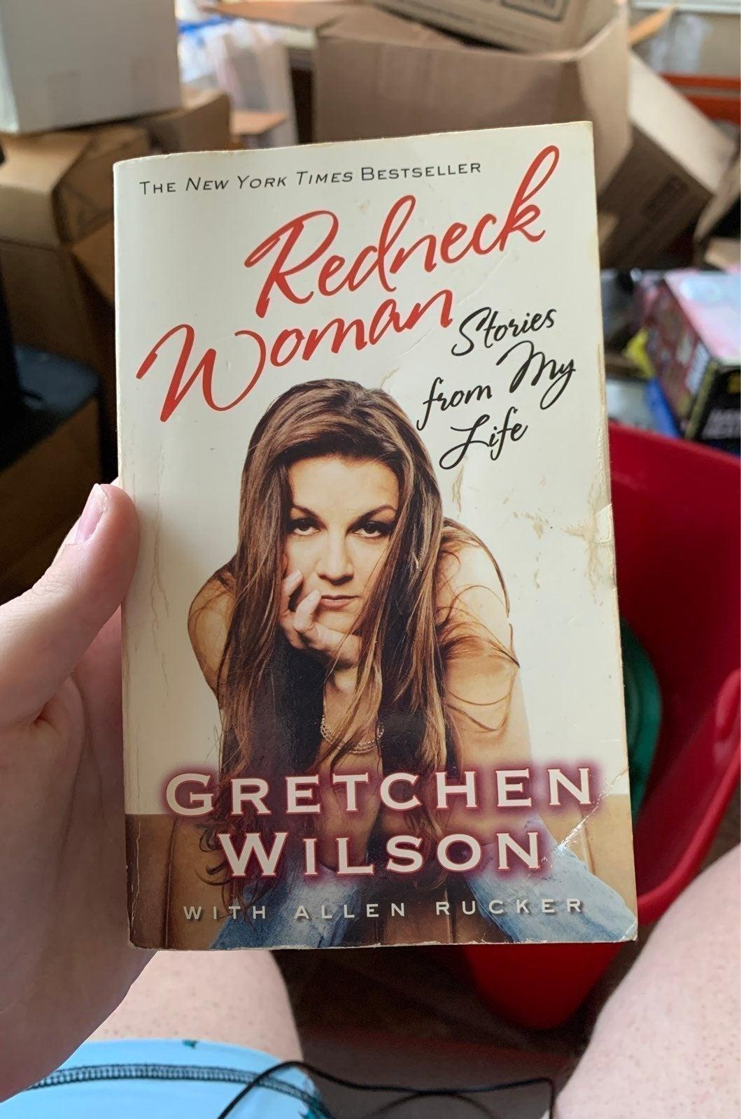 Gretchen Wilson's Redneck Woman book