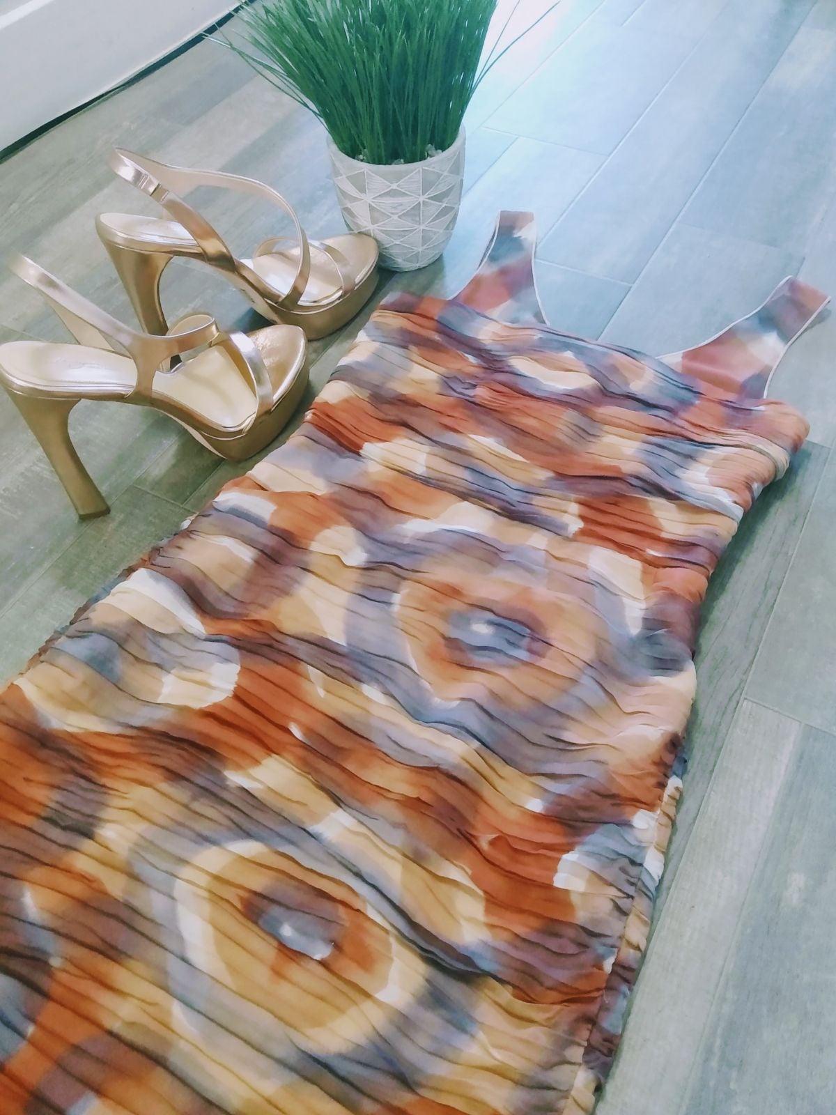 Alice + Olivia Ruched Bodycon Silk Dress