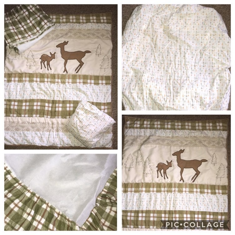 Trend Lab-Deer Lodge Crib Set