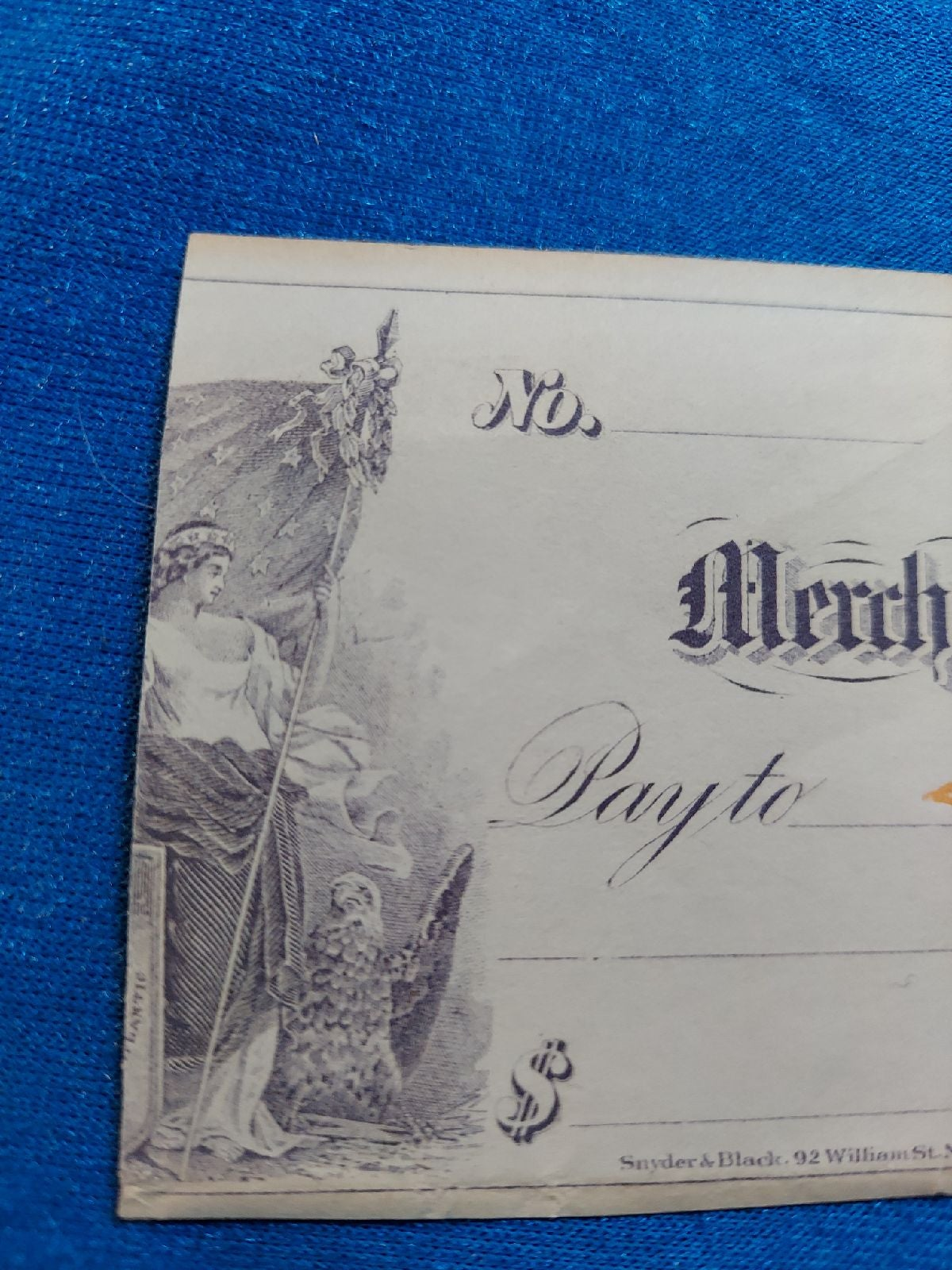 RARE Paper money, Unc. Early 1880's