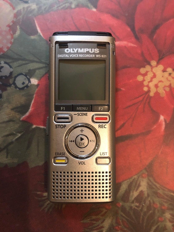 OLYMPUS DIGITAL VOICE RECORDER WS-821