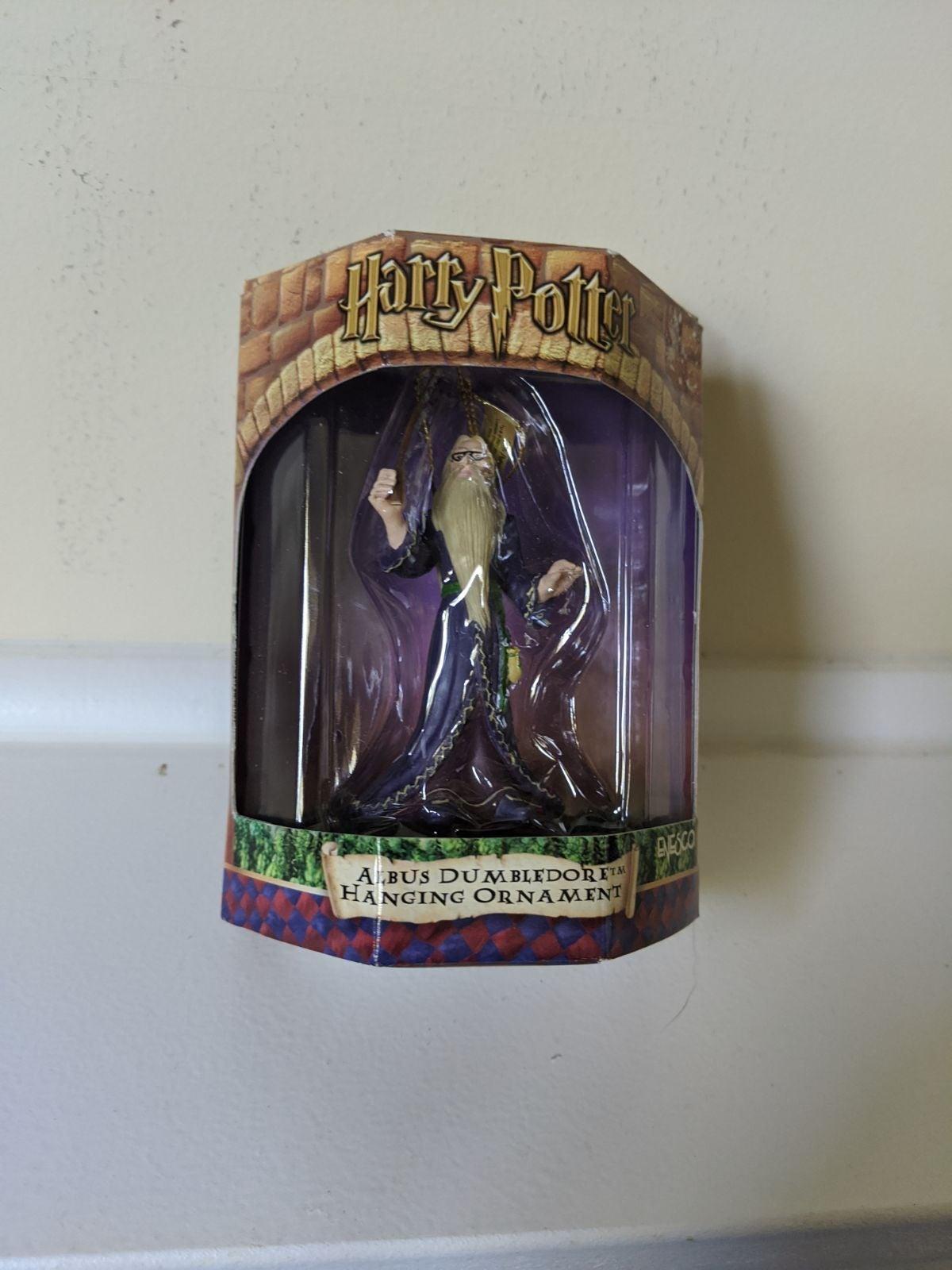2001 Harry Potter Christmas Ornament Lot