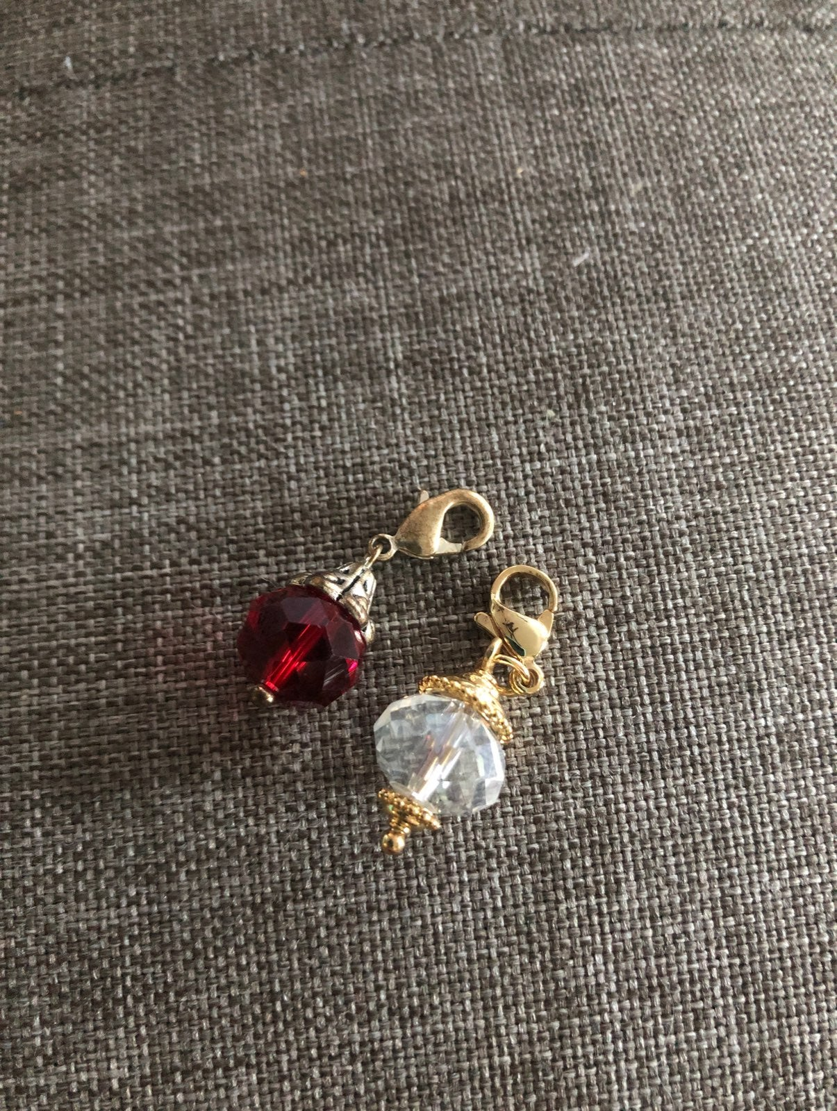 Origami Owl Two Crystal Dangles