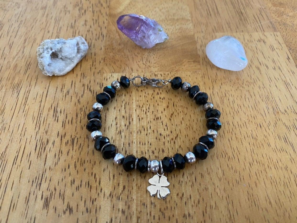 Sterling Silver Lucky Charm Bracelet