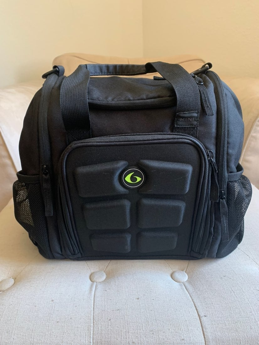 Six pack fitness lunch bag