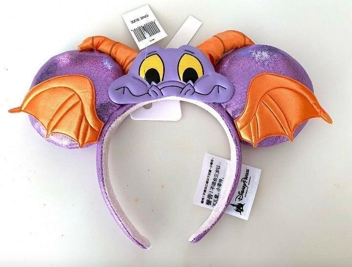 Disney World Epcot Figment Ears Headband