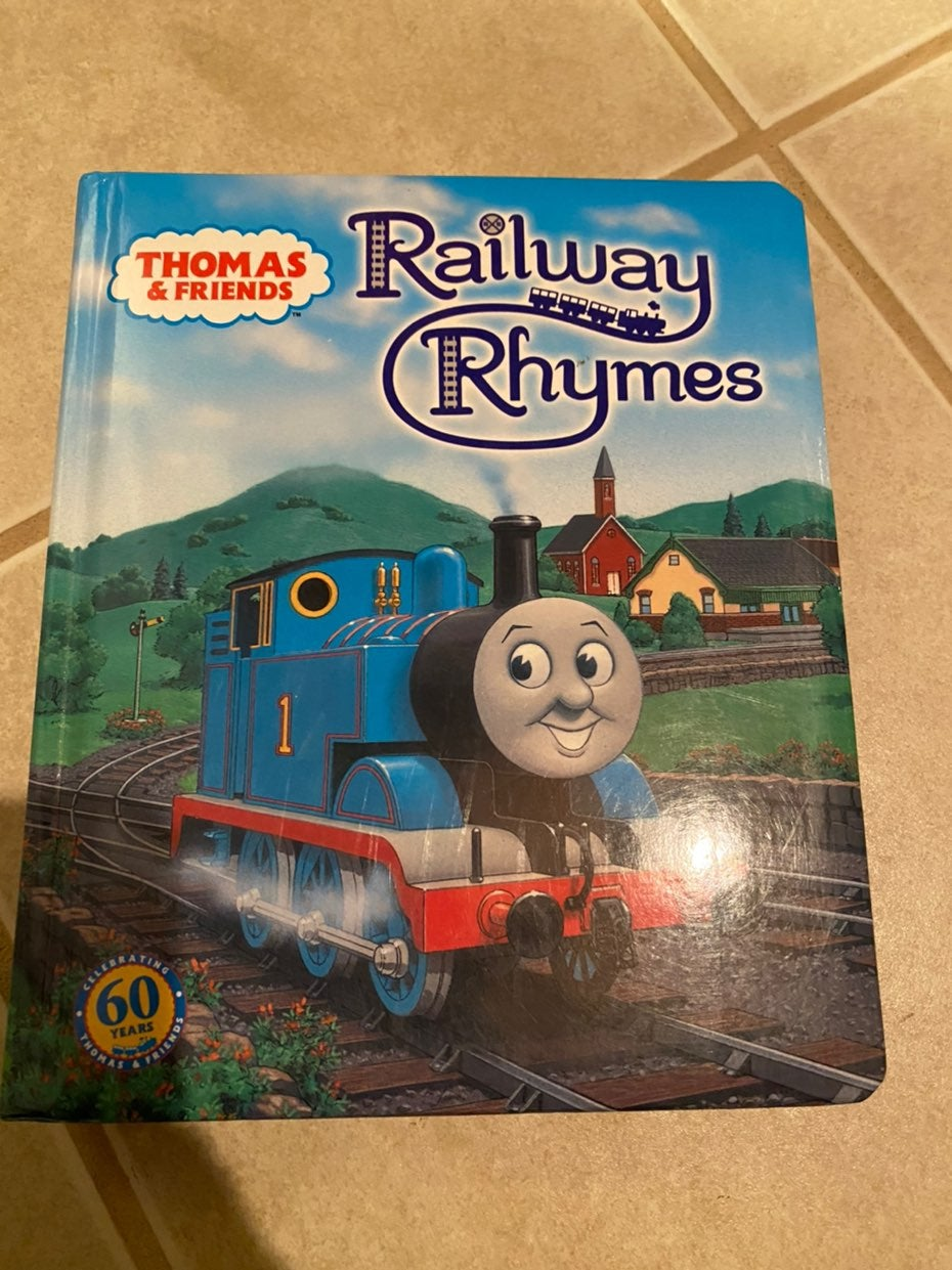 Large and puzzle thomas the train books