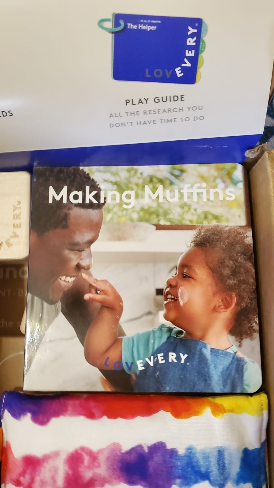 "Lovevery ""Making Muffins"" Book"
