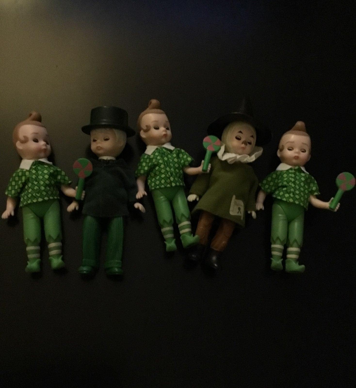 Madam Alexander McDonalds dolls