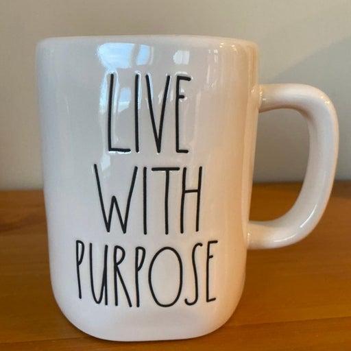Rae Dunn LIVEWITH PURPOSE Mug