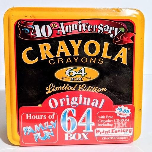 Crayola 40th Anniversary Vintage 64 Cray