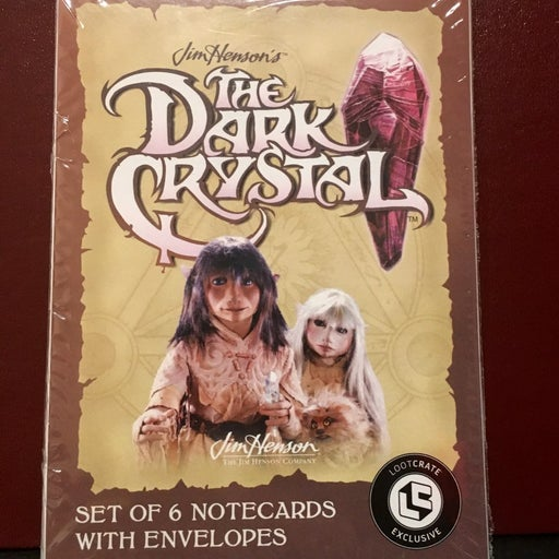 The dark Crystal notecards and envelopes