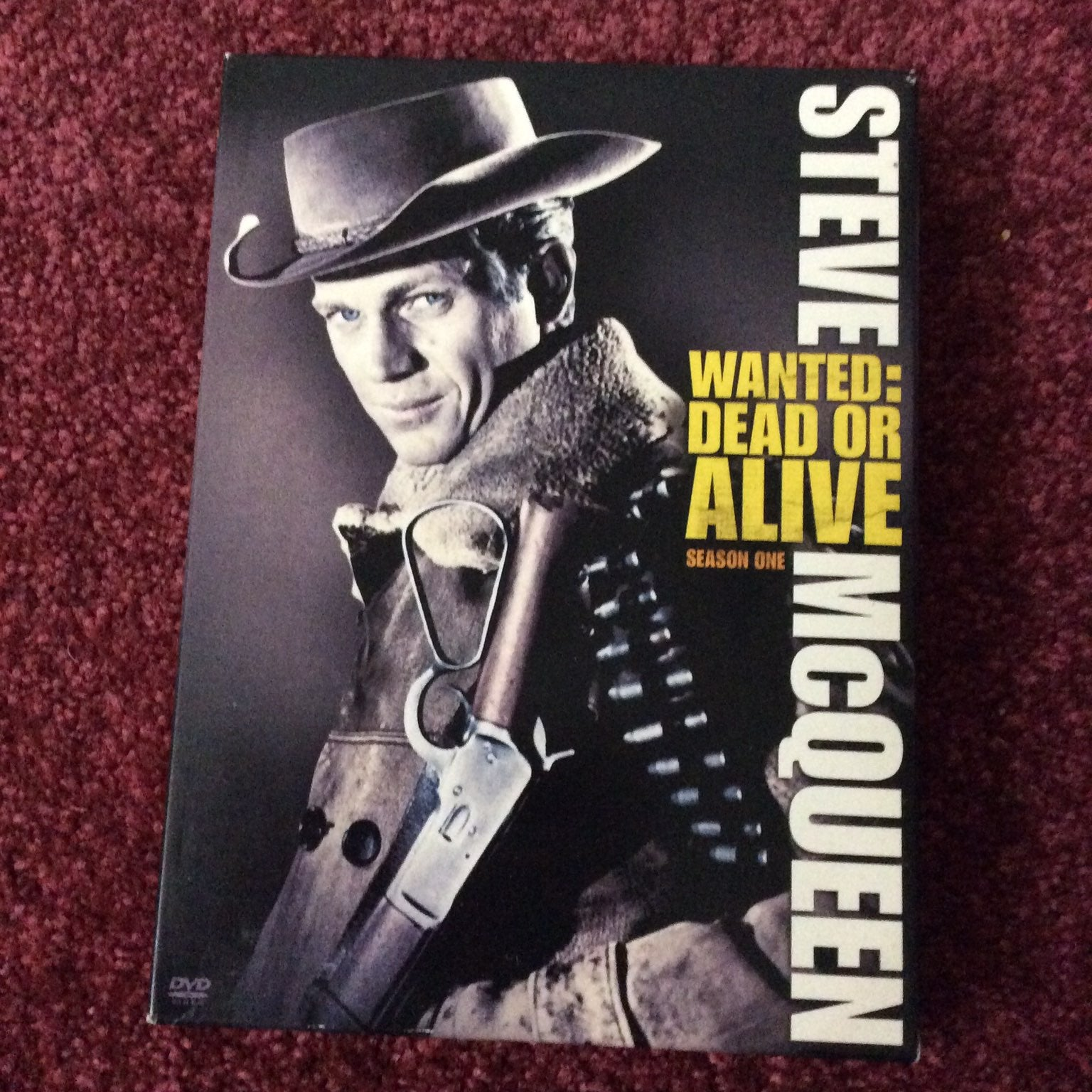 Wanted: Dead or Alive DVD