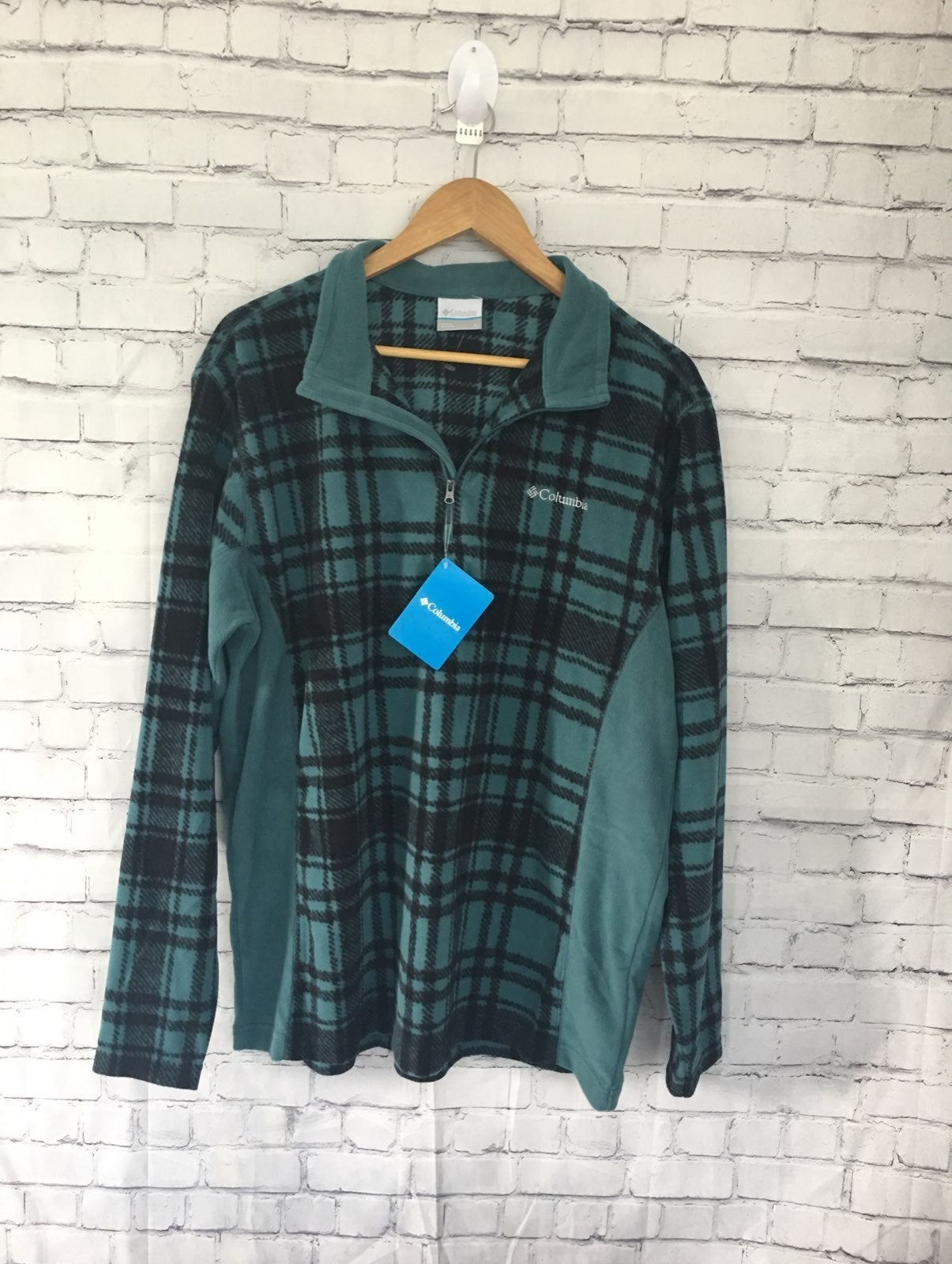 Colombia flannel shirts for men size L