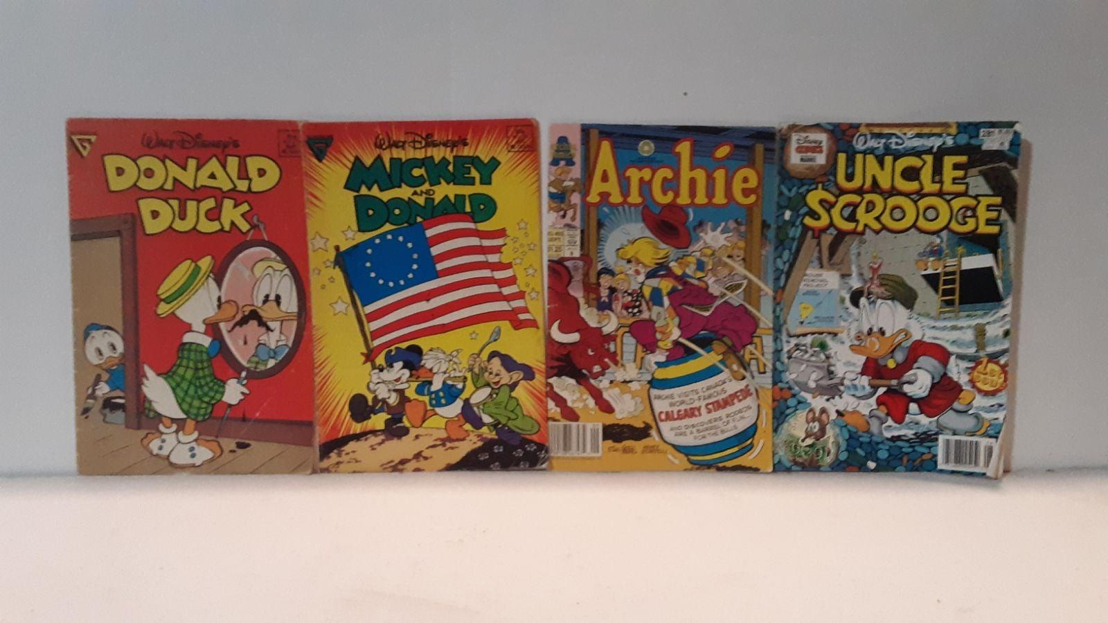 Disney and Archie comic lot vintage