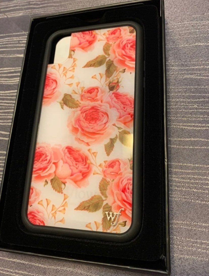 WildFlower Iphone XR Case NEW