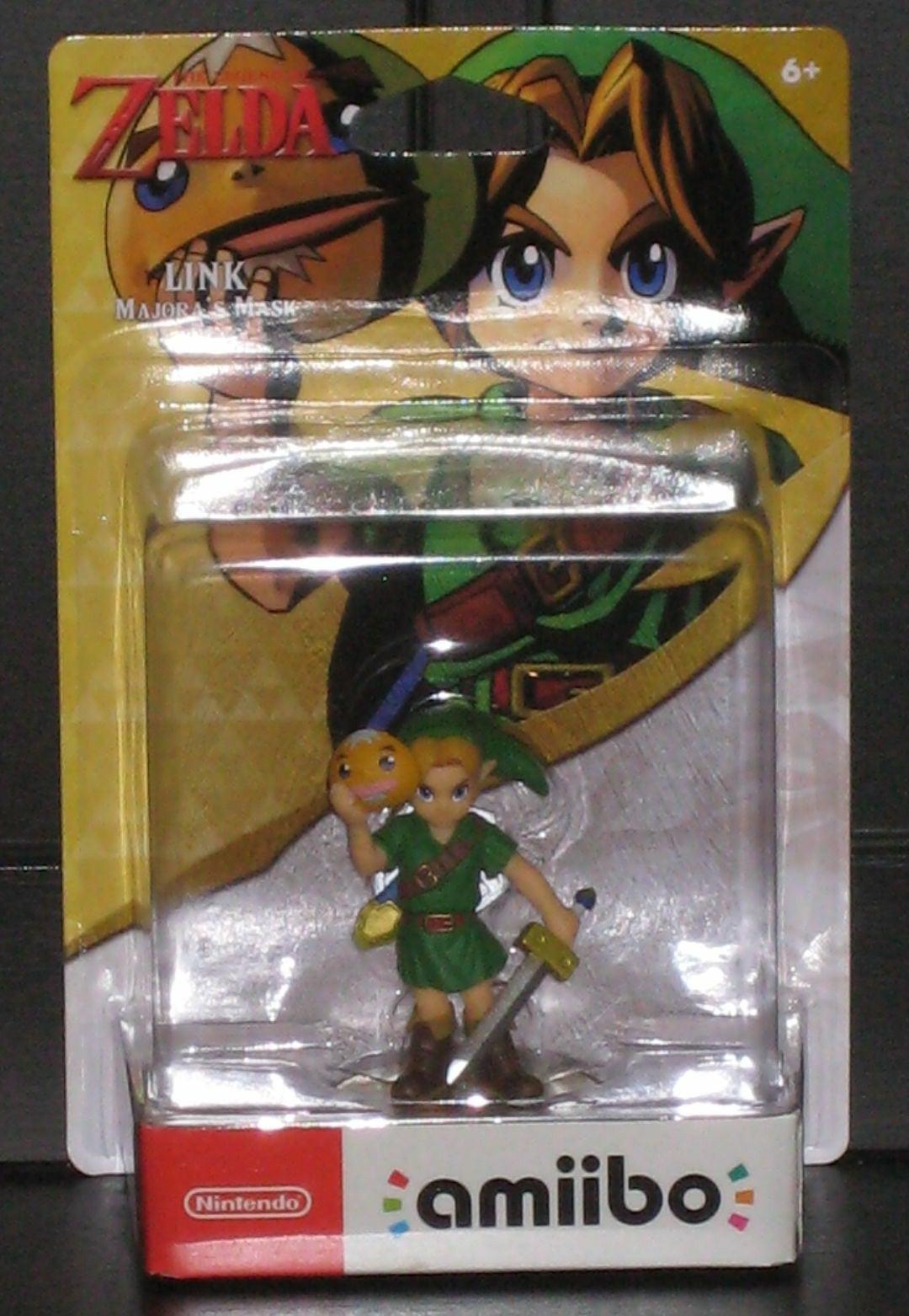 Link Majora's Mask Nintendo Amiibo Zelda