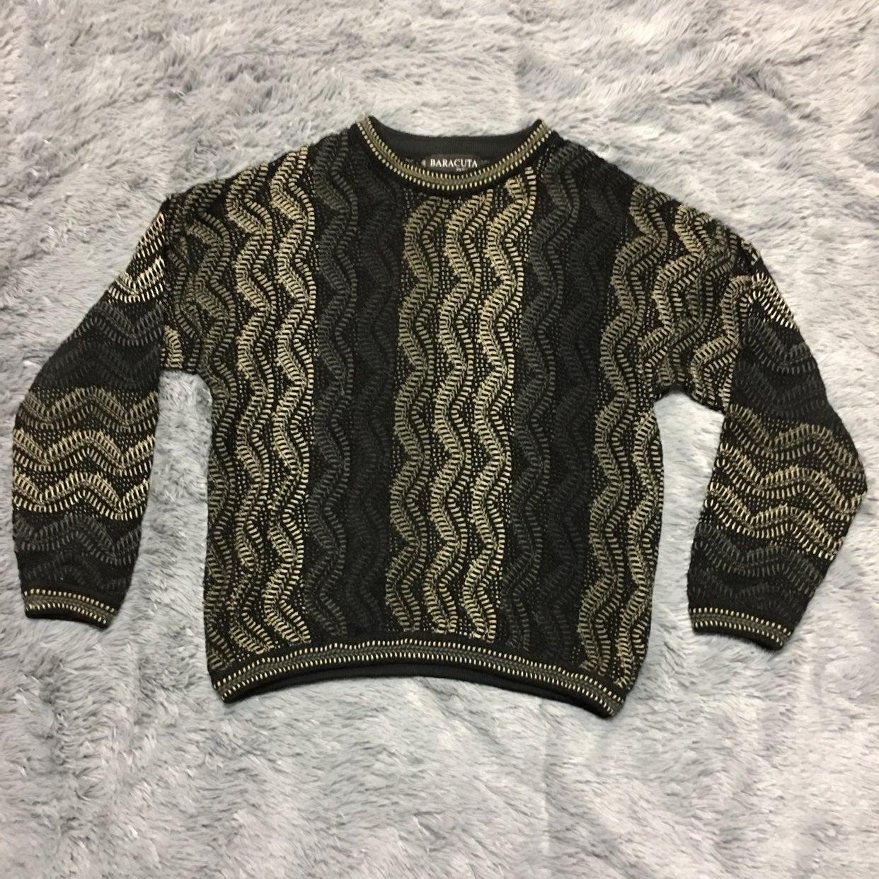 Baracuta By Tundra Crewneck Sweater