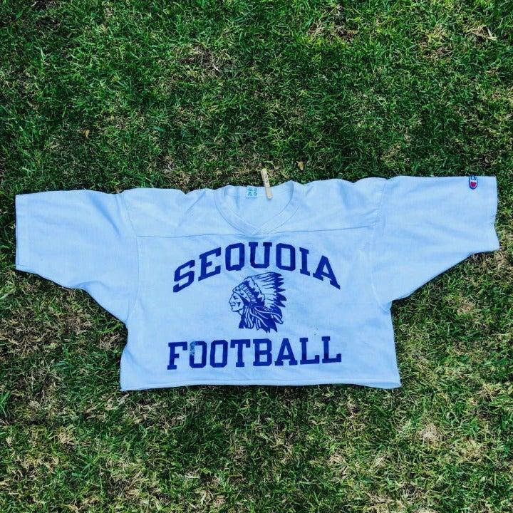 Vintage Champion Sequoia Football Cutoff