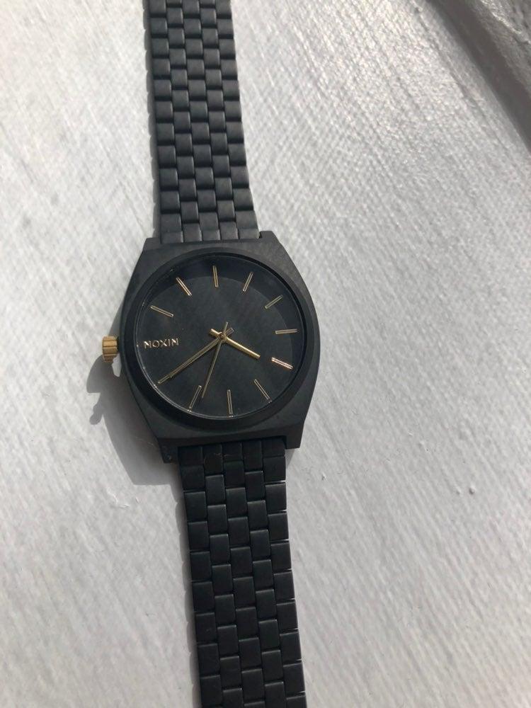 Nixon Time Teller Watch black & gold