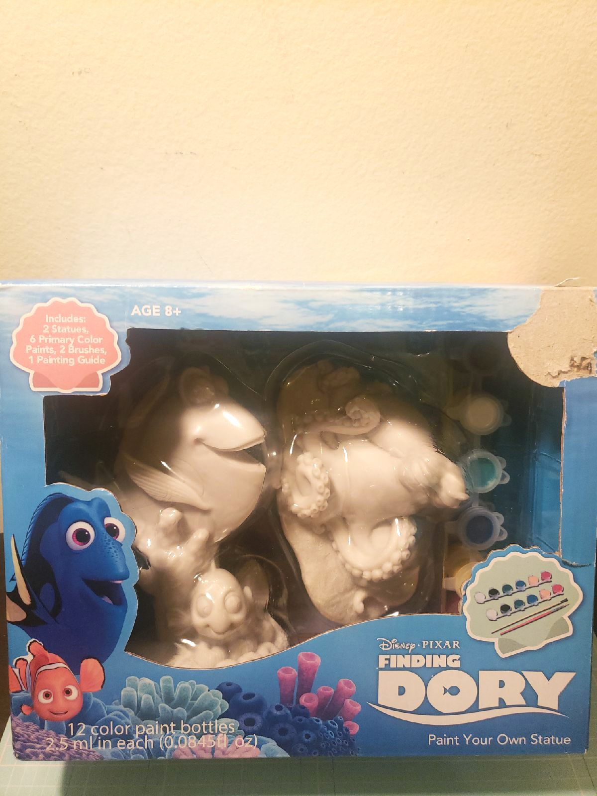 Finding Dory Paint Statue