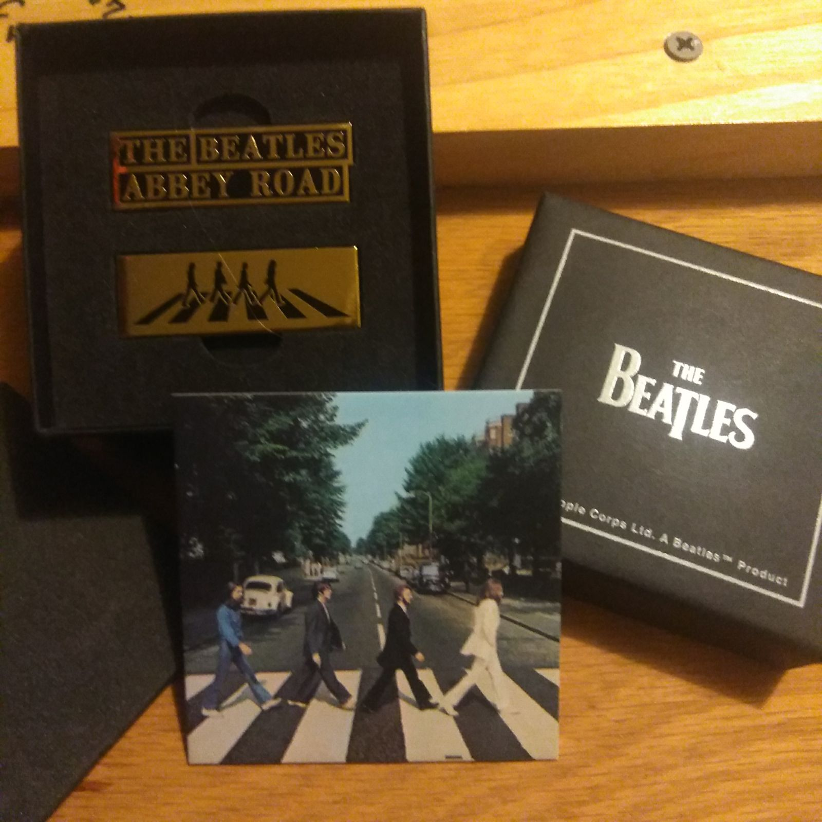 The Beatles Abbey Road Pins