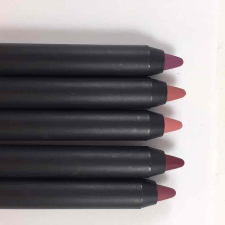 Five matte lip liner set matteify