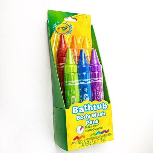 Crayola Bathtub Body Wash Pens 6-Pack