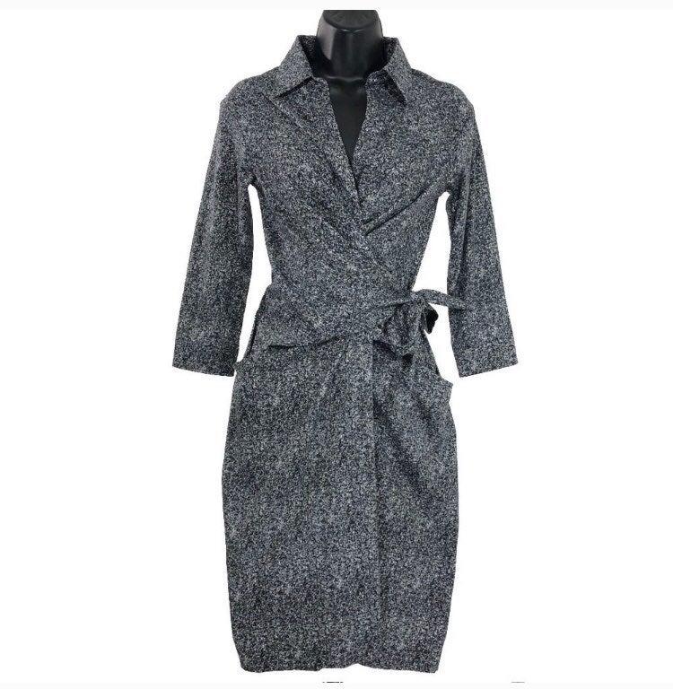 Samantha Sung Wrap Dress