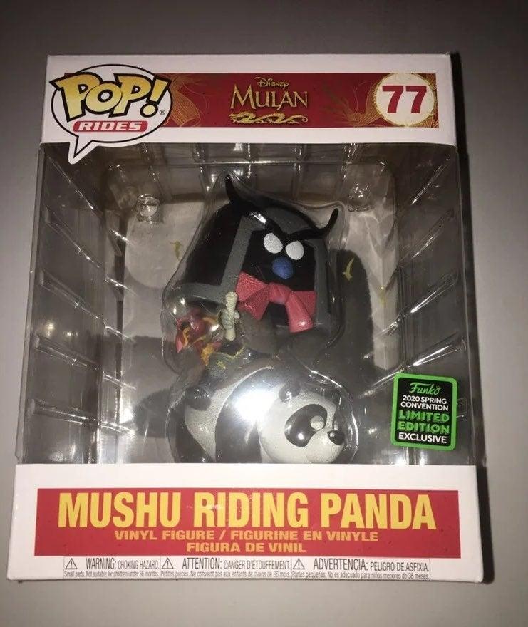 Funko Pop! Rides (Mushu Riding Panda)