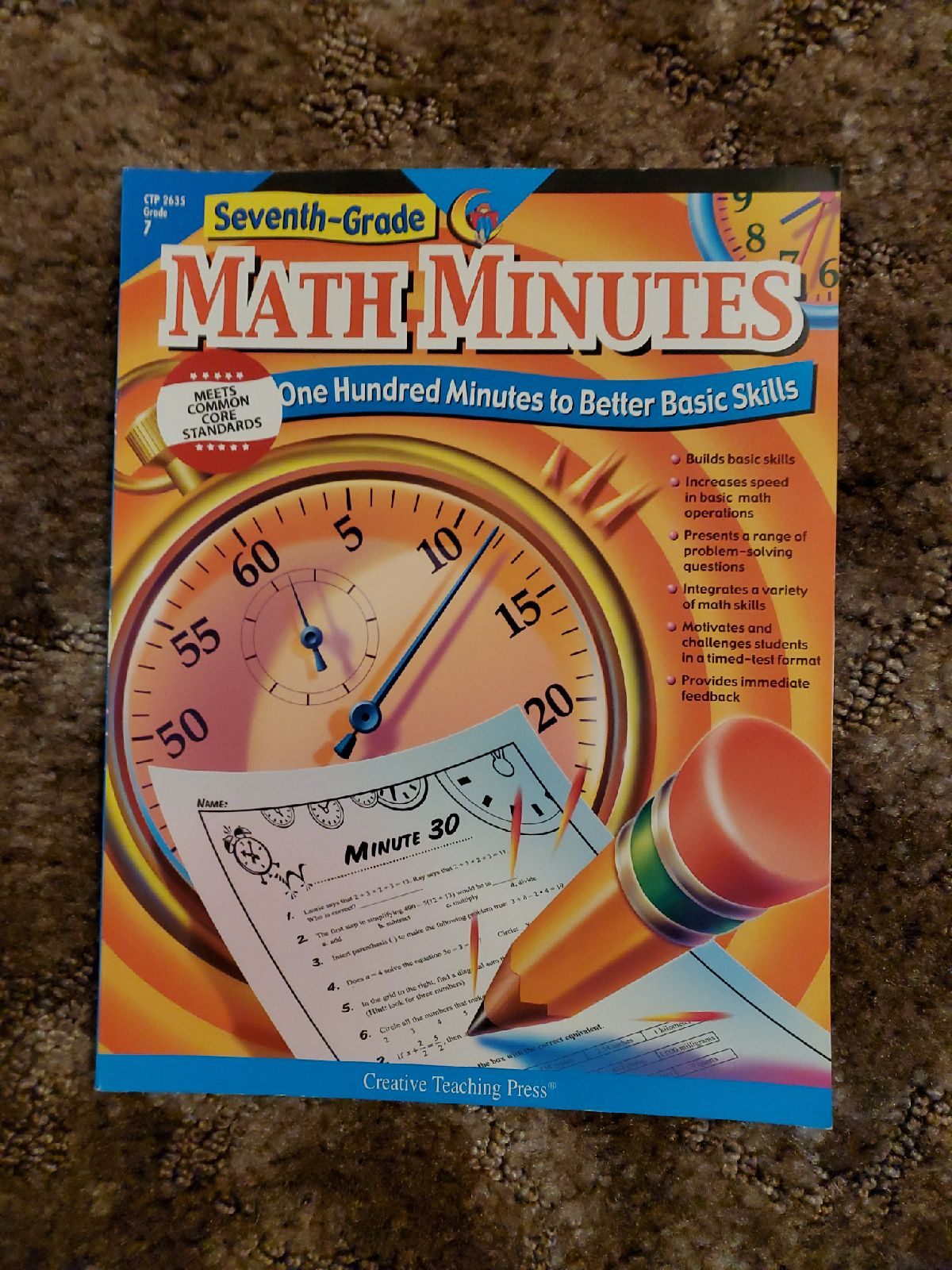 SEVENTH-GRADE MATH MINUTES: ONE HUNDRED