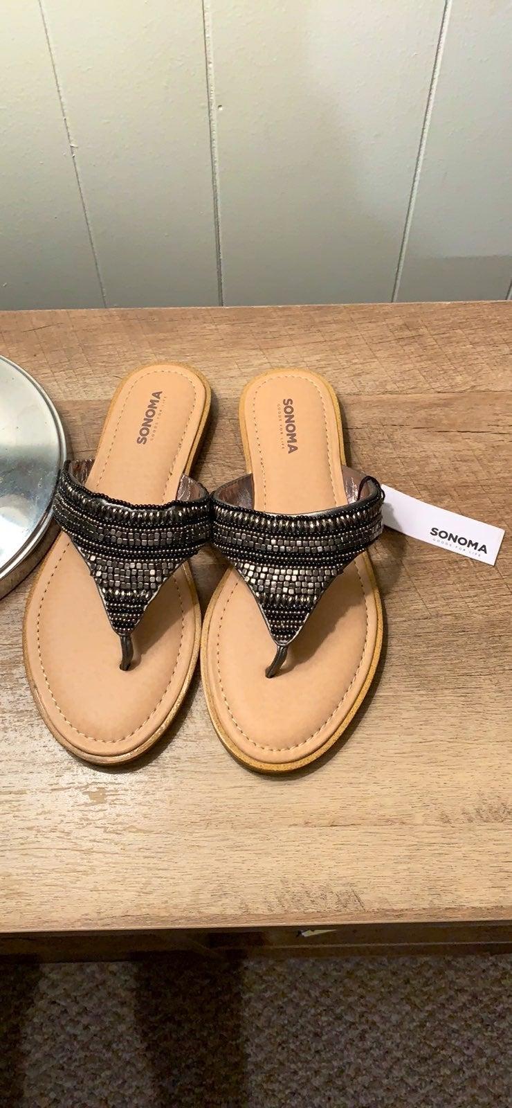 SONOMA beaded sandals
