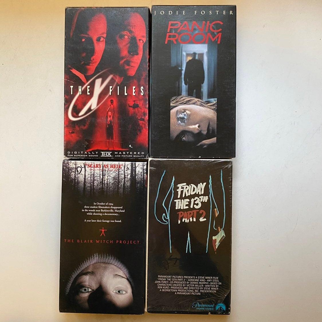 Vintage Horror Movie 4 Pack