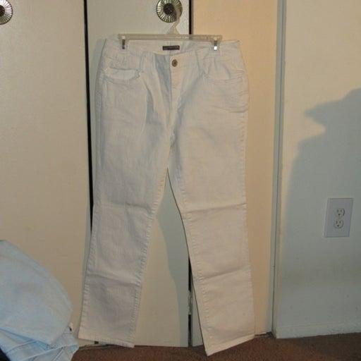 White Covington Jeans