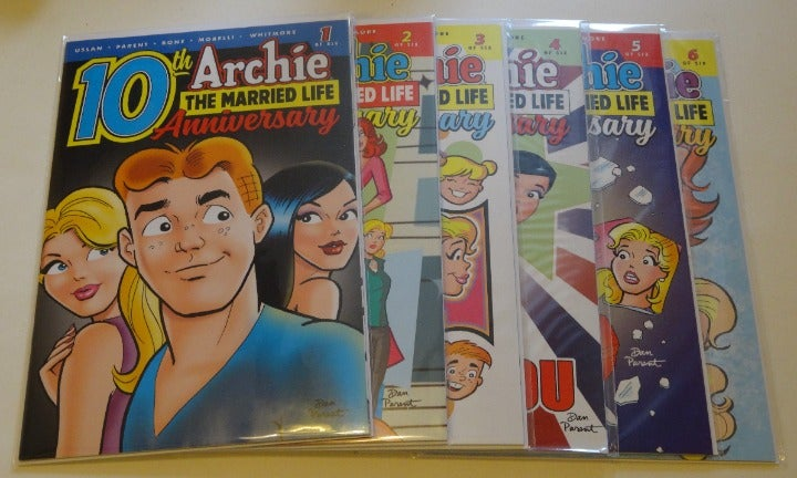 Archie Married Life 10th Anniversary 1-6