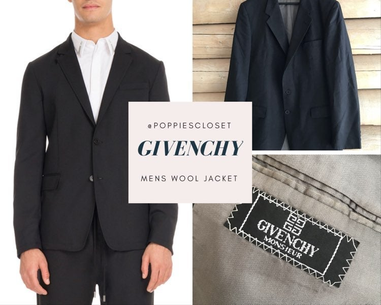 Givenchy Mens Suit jacket