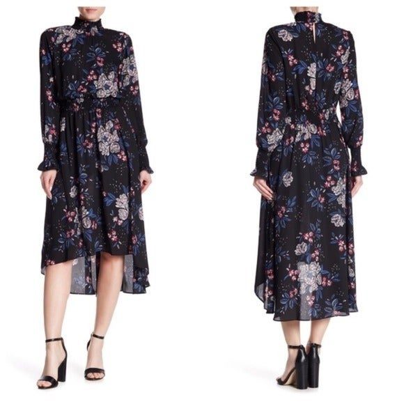 New Floral high low dress
